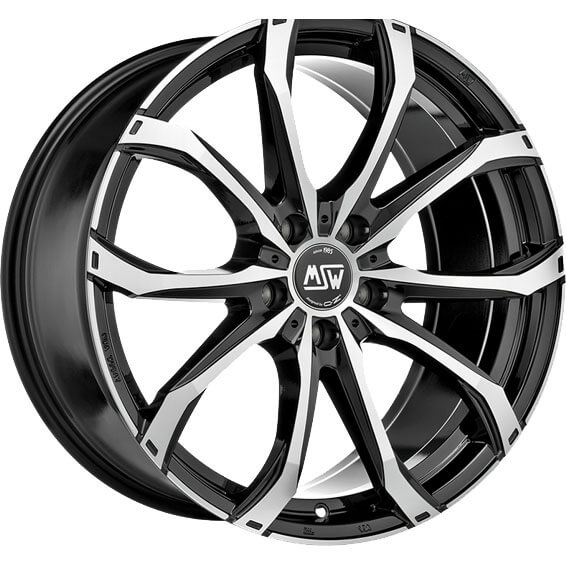 MSW 48 Black Full Pol 18X8 5x120 ET45 65