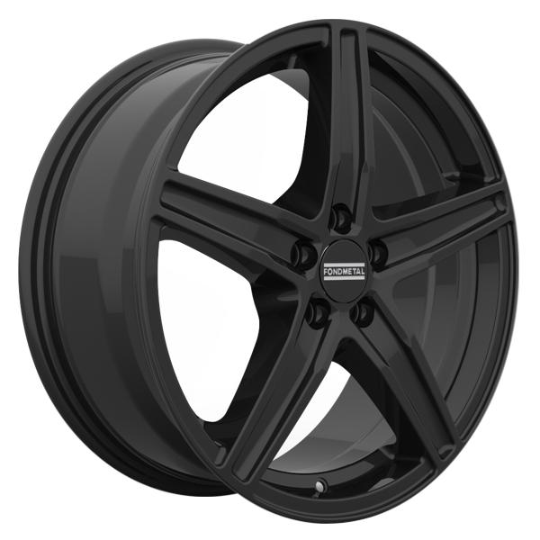 Fondmetal 8100 Matt Black 16X6.5 5x115 ET41 70
